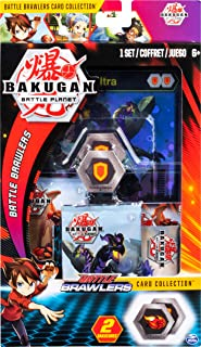 Bakugan Deluxe Battle Brawlers Card Collection with Jumbo Foil Nillious Ultra Card, for Ages 6 and Up