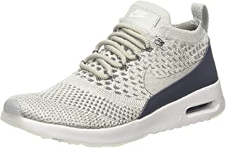nike flyknit trainers pale grey