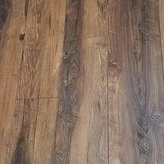 Milltown Rustic Sawmilled Oak Plank Floating Laminate Flooring 12mm (Sample)