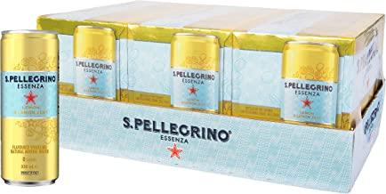 Sanpellegrino Essenza Lemon & Lemon Zest, 24 x 330 mL