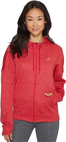 adidas - Team Issue Fleece Full Zip Hoodie
