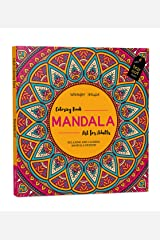 Mandala Art: Colouring Books for Adults with Tear Out Sheets (Adult Colouring Book) Paperback