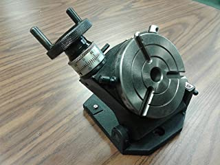 """4"""" Precision Tilting Rotary Table,MT2 Center, Part#TSK-100in- New"""