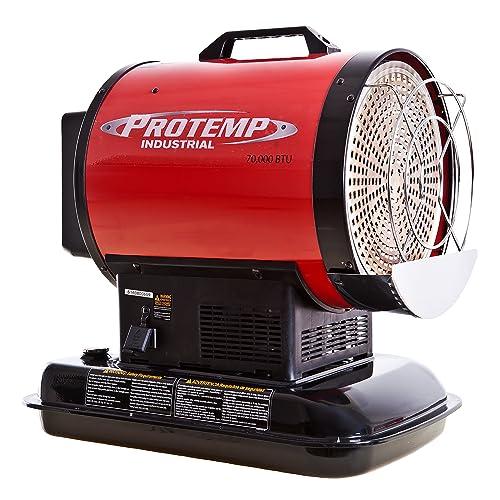 Pro-Temp PT-70-SS 70,000 Btu Kerosene Radiant Sun Stream Heater,