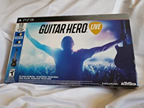 $33 Get Guitar Hero Live (Game And Guitar) Sony PS3 (New)