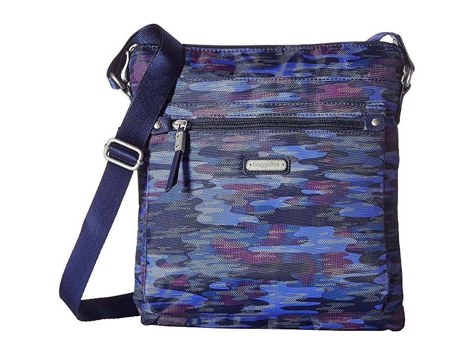 Baggallini New Classic Go Bagg with RFID Phone Wristlet (Moonlight Camo) Bags