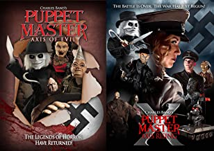 Puppet Master Axis of Evil & Axis Rising Cult Horror 2-Movie Collection Blu-ray Bundle
