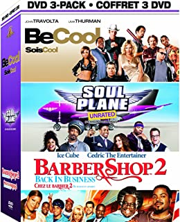 Be Cool / Soul Plane Unrated Barber Shop 2: Back in Business 3-Pack