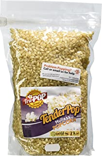 Tender Pop Hulless Popcorn Kernels 2 Lbs - Just Poppin Brand
