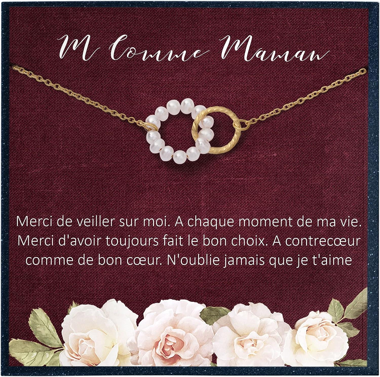 Grace of Finally popular brand Pearl Cadeau security d'anniversaire Pour Maman de