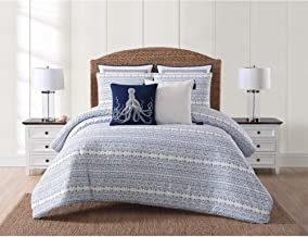Oceanfront Resort CS2358FQ-1500 Comforter Set, Full/Queen, Reef Point
