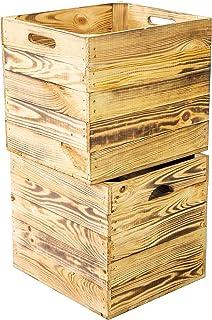 Kistenkolli Altes Land 2 x drewniana skrzynka podpalana, ide