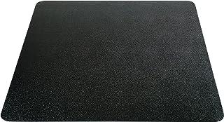 حصيرة كرسي Deflecto EconoMat غير مرصعة للأرضيات الصلبة، حواف مستقيمة، 91.44 سم × 121.92 سم، أسود (CM21142BLKCOM)