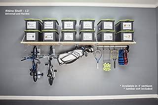 DIY Rhino Shelf Garage Shelves (12 Foot Length, 33.5)