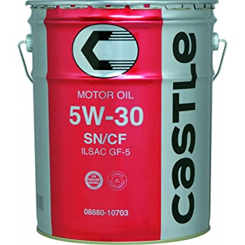 TOYOTA [ トヨタ ] キャッスル [ CASTLE ] 5W30 [ SN/CF ] 鉱物油 [ 20L ]