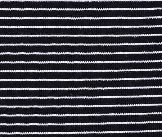 Camiseta Negra de Rayas Blancas YD PRIMARK 9-10 años: Amazon ...