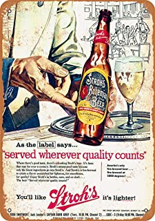 CoareL 1957 Stroh's Bohemian Beer - Vintage Look 8