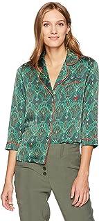 bee42c549c Dear Drew by Drew Barrymore Women s Christopher St Button Down Long Sleeve  Blouse