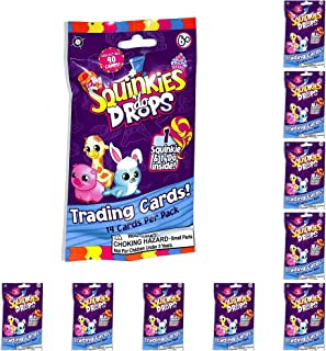 Bulls i Toy Squinkies Do Drops Trading Cards & Squinkie & Do Drop 10 Packs