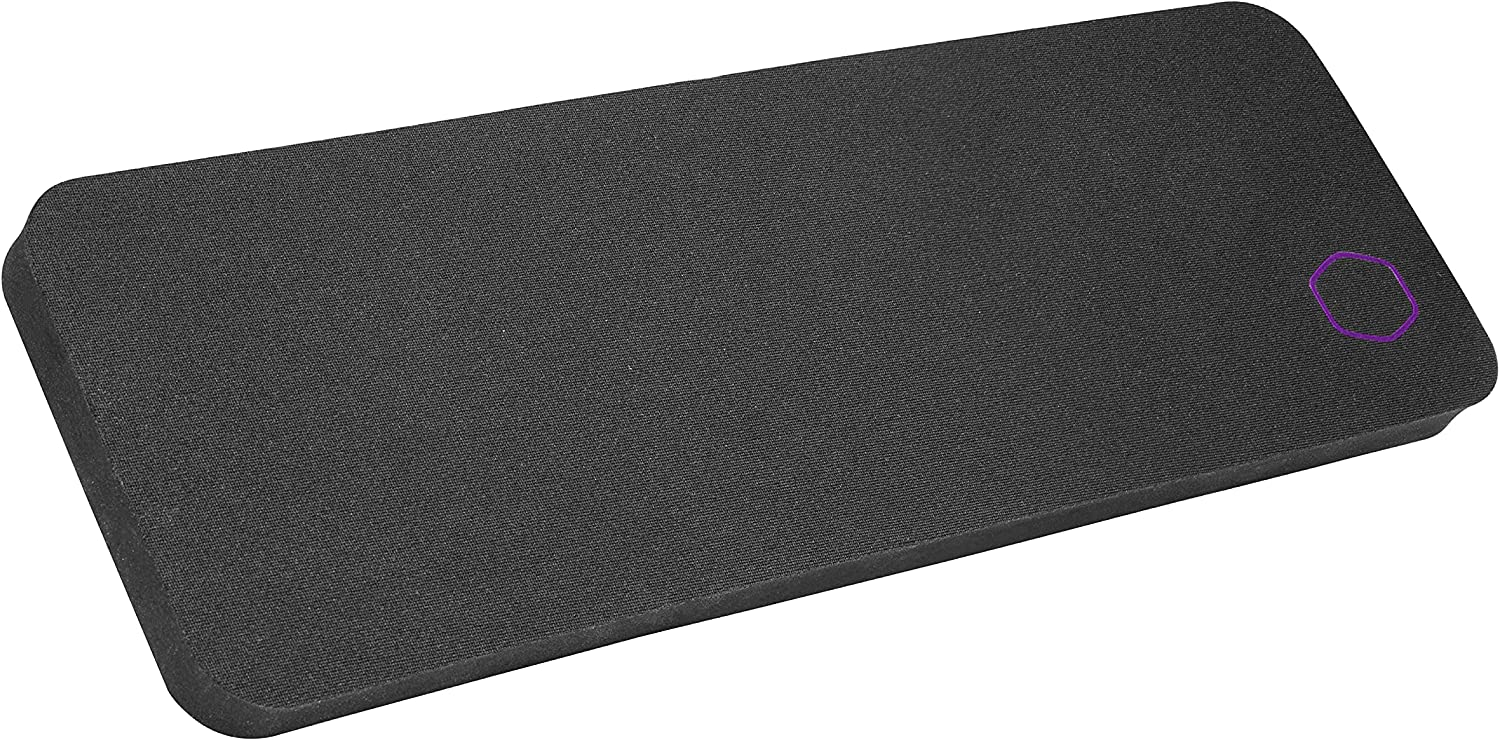 Cooler Master WR510 Wrist Rest 60% Low Profile Compact Size with Low-Friction Surface, Anti-Slip Base, and Splash-Resistant Coating