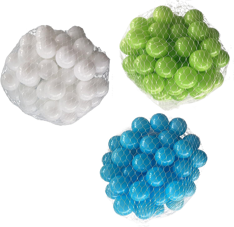 mejor opcion Pelotas para pelotas baño variadas Mix con turquesa, verde verde verde claro y blancoo Talla 6000 Stück  Envíos y devoluciones gratis.