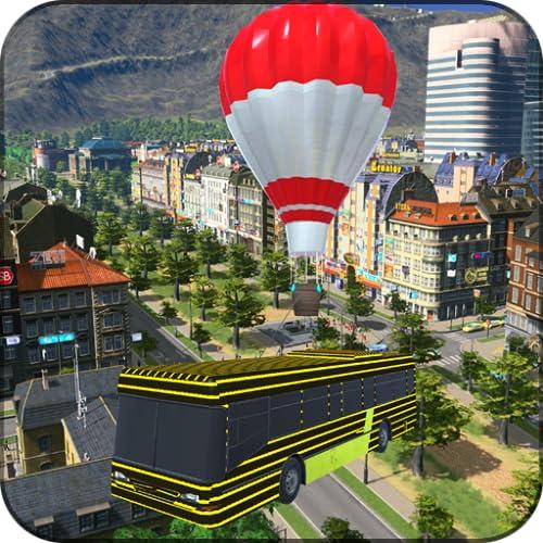 Flying Air Balloon Bus Adventure