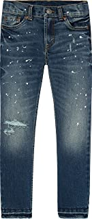 Levi's Boys' 511 Slim Fit Distressed Jeans