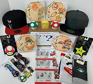Retail Sales Solutions Nintendo Collector's Box de 7 artículos especiales paquete de regalo