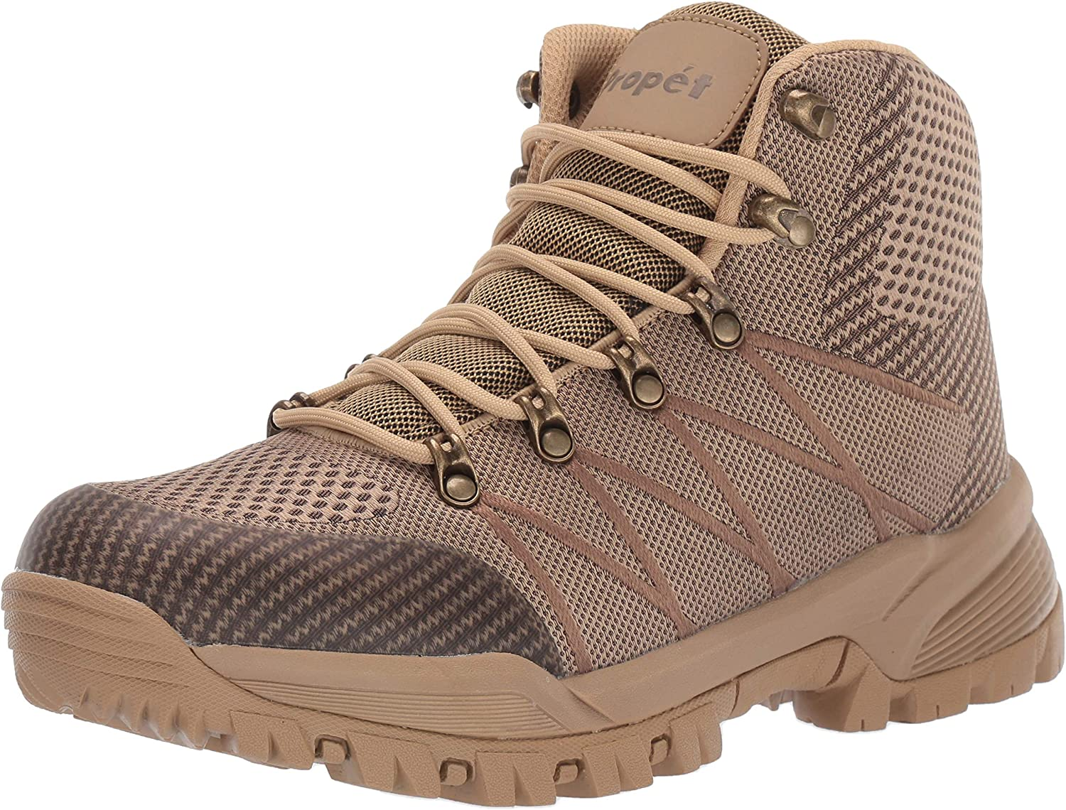 Propet Men's Traverse Hiking We OFFer Financial sales sale at cheap prices Boot X-Wide Brown 15 Sand