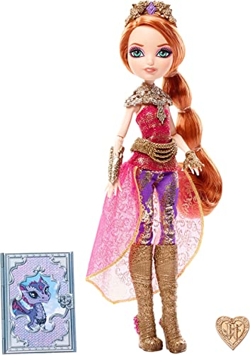Ever After High Mattel DHF37 - Modepuppen, Drachenspiele Holly