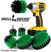 Cleaning Supplies - Kitchen Accessories - The Ultimate Kitchen Drill Brush Attachment Kit - Crock Pot - Cast Iron Skillet - Countertops - Cooktop - Oven - Sink - Backsplash - Trash Can - Flooring