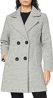 Authentic Style Abrigo de Mezcla de Lana para Mujer
