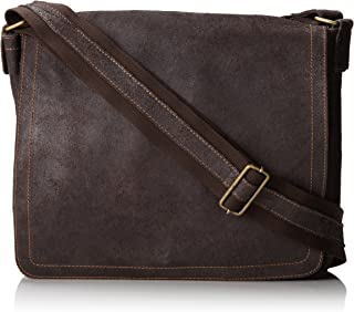 David King & Co. North South Laptop Messenger, Cafe, One Size