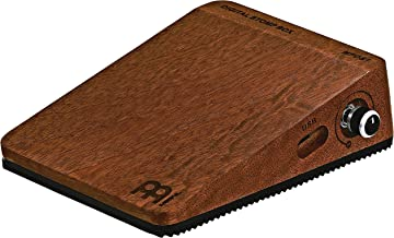 Digital Stomp Box for Multi-instrumentalists with Active Piezo Pickup — Create Rhythmic Patterns — 5 Programmed Samples Plus 1 Custom, Features Mahogany Body and Quarter-inch Input/Output Jacks