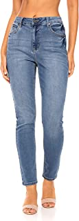 Women's Mid Rise Stretch Skinny Jeans