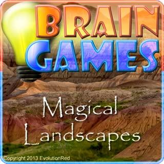 Magical Landscapes- Brain Twister Puzzles