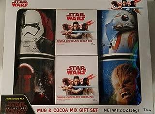 Star Wars Last Jedi 4 Mug Set