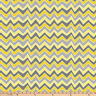 Best yellow chevron fleece fabric Reviews