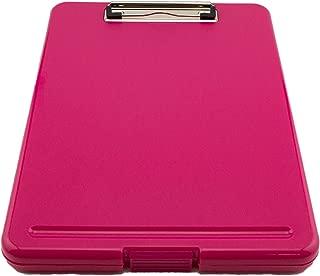 Tytroy Slim Pink Plastic Storage Clipboard Letter Size Clipboard