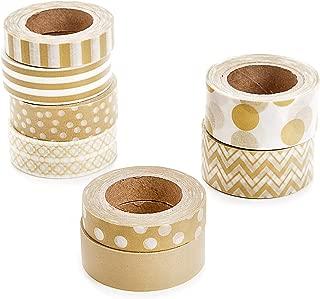 Darice Natural Kraft Washi Tape Assortment
