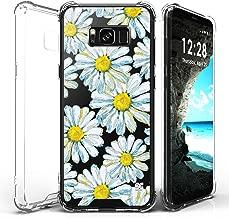 Galaxy S8 Case, Customerfirst Gradient Shock Absorption Flexible TPU Soft Edge Bumper Anti-Scratch Rigid Slim Protective Cases Hard Plastic Back Cover for Samsung Galaxy S8 (2017) (Sunflower)