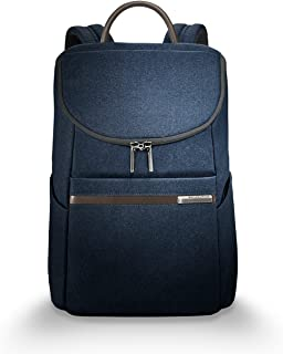 Kinzie Street-Wide Mouth Backpack, Navy, One Size