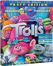 Trolls Walmart Exclusive Edition Bluray