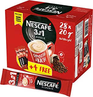 Nescafe 3in1 Instant Coffee Sachet 20g (28 Sticks) – Promo Pack