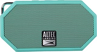 Altec Lansing IMW257-MT Mini H2O Wireless Bluetooth Waterproof Speaker, Floating IP67 Waterproof, Boat, Hiking, Golf Cart, Atv, Utv, Lightweight, 6-Hour Battery Life, (Mint)