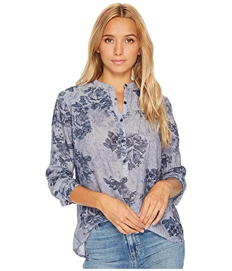 Floral Chambray Lucky Lucky Brand Top Floral Chambray Brand q4Zd8nxO