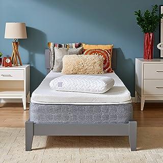 Tempur-Pedic TEMPUR-Supreme 3-Inch Medium Firm Twin XL Mattress Topper + Cloud Pillow Set