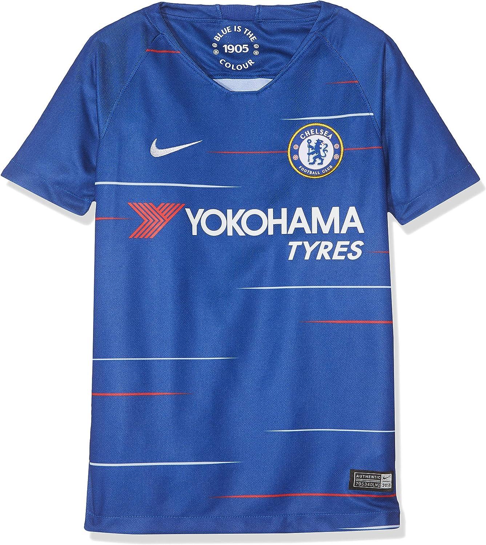 Amazon Com Nike 2018 2019 Chelsea Home Football Shirt Kids Clothing