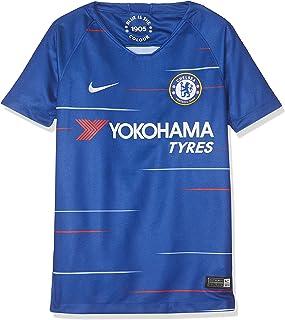 166ef20ae6980d Nike Chelsea FC Breathe Stadium Jersey Short-Sleeve Home, T-Shirt Unisex  Bambini