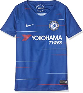 NIKE 2018-2019 Chelsea Home Football Shirt (Kids)